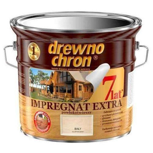 DREWNOCHRON- impregnat, biały, 4.5 l (extra powłokotwórczy)