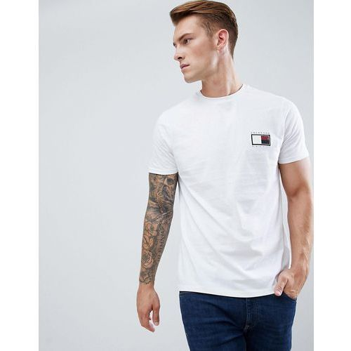 New look t-shirt with colorado embroidery in white - white