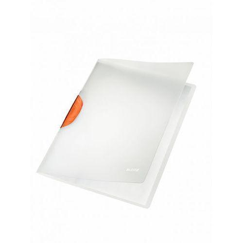 Skoroszyt zaciskowy Leitz ColorClip Magic A4 4174 pomarańczowy