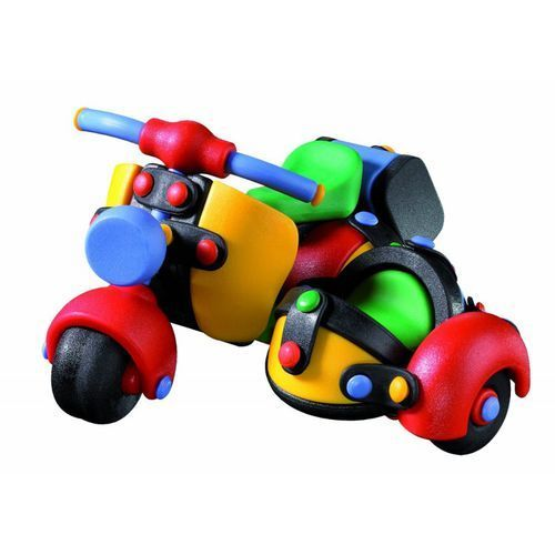 Zestaw do składania mic-o-mic wesoły konstruktor motor z bocznym siedzeniem marki Mic-o-mic - zabawki konstrukcyjne