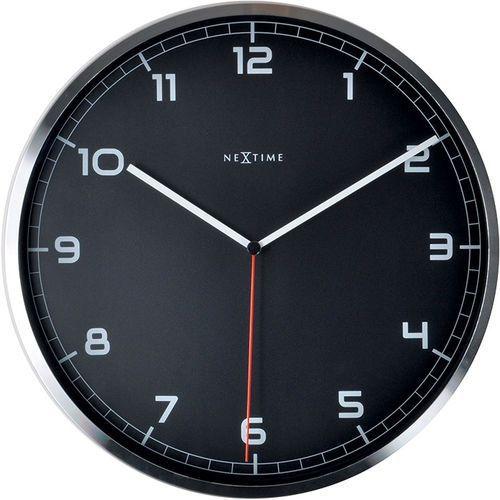 Nextime Zegar ścienny company arabic 35 cm, czarny (3080 zw) (8717713011231)