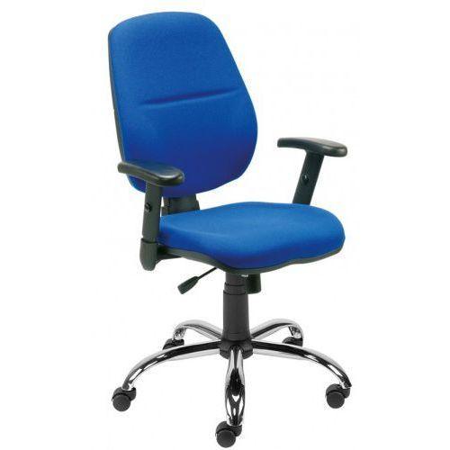 Krzesło obrotowe inspire r1c steel02 chrome - biurowe, fotel biurowy, obrotowy marki Nowy styl