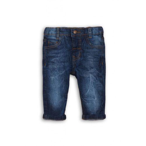 Spodnie niemowlęce jeansowe 5l34a7 marki Babaluno
