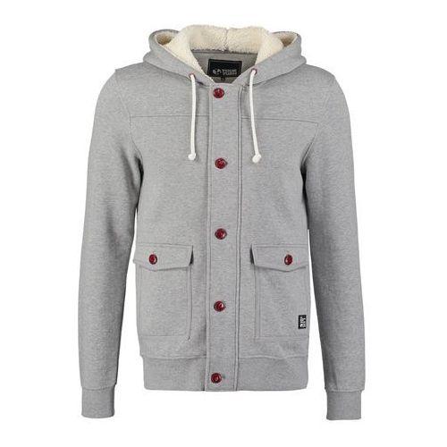 YOURTURN Bluza rozpinana grey, bawełna