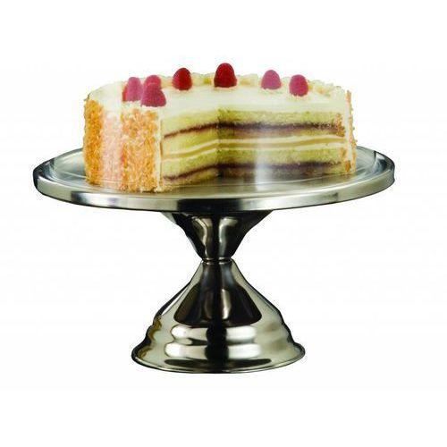 Patera do ciasta ze stali nierdzewnej | ø32,5cm