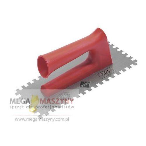 RUBI Paca stalowa ząbkowana 28 cm Rączka plastikowa 12x12 mm z kategorii kielnie, szpachelki i pace