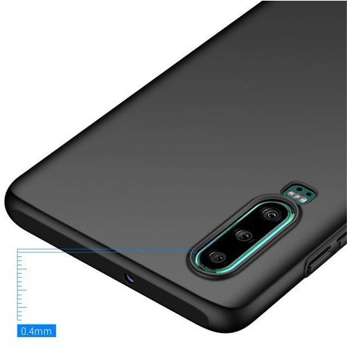 MSVII Simple ultracienkie etui pokrowiec Huawei P30 czarny, 48341 (11696388)