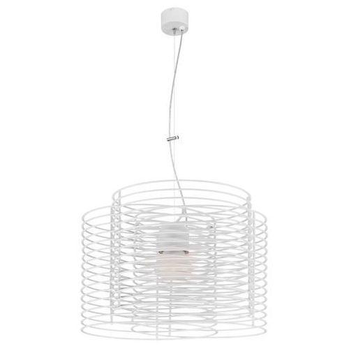 LAMPA wisząca RINGO 1030227 Spotlight metalowa OPRAWA zwis drut biały, 1030227