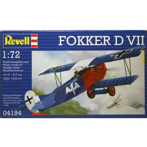Revell Fokker d vii (4009803041940)