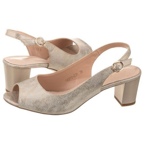 Sandały Sergio Leone Złote SK810-23S (SL229-a), SK810-23S