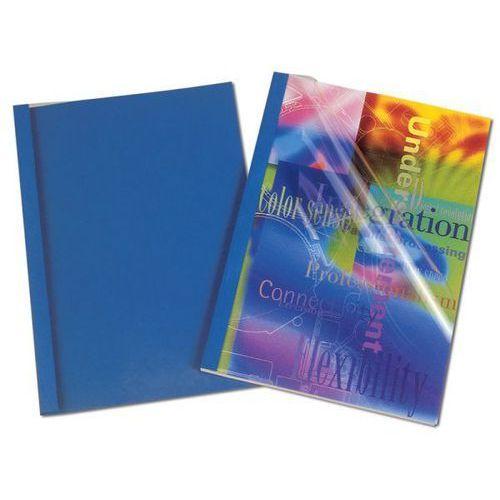 Fellowes Okładki do termobindowania skóropodobne prestige - niebieskie - 3mm - 100szt.