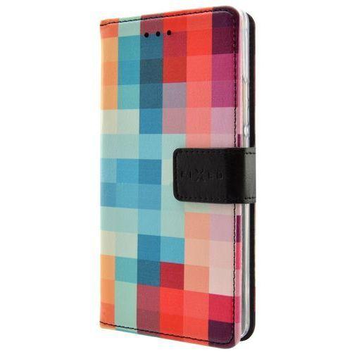 Fixed etui ochronne Flip-kryt Opus (Nokia 6), wielokolorowe, kolor wielokolorowy