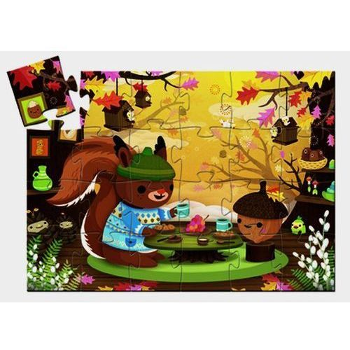 Djeco , wiewiórka, puzzle, 24 elementów