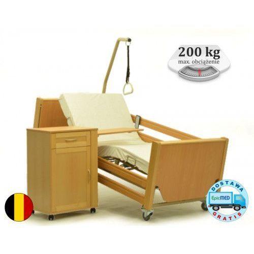 Łóżko rehabilitacyjne Luna 2 z elektryczną regulacją wysokości i pozycją aTB, VRN-luna-2