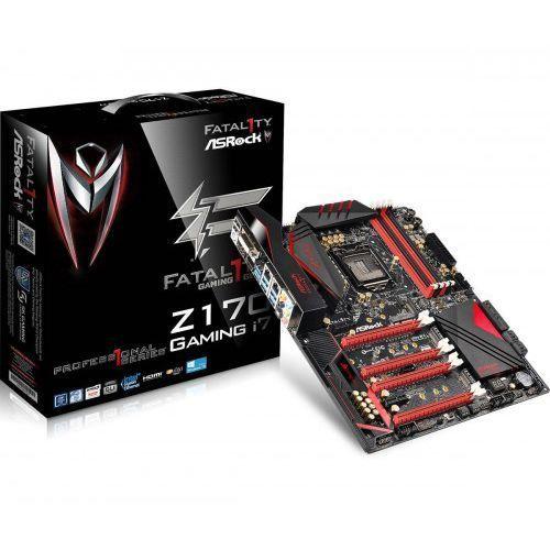 Płyta główna ASRock Z270 Professional Gaming i7, Z270, DDR4, HDMI, DisplayPort, ATX (90-MXB430-A0UAYZ) Darmowy odbiór w 20 miastach! (4717677332827)