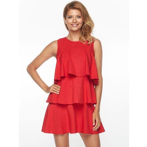 Sukienka Rosario w kolorze czerwonym