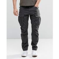 rovic zip cargo pants 3d tapered - black, G-star