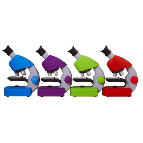 Mikroskop BRESSER Junior 40x-640x Niebieski + DARMOWY TRANSPORT! (0611901514710)