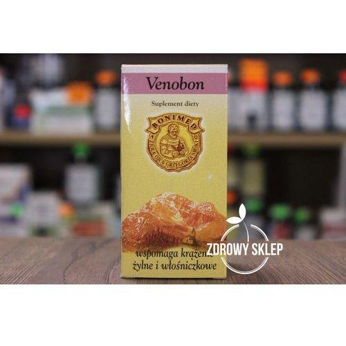 Kapsułki Venobon wspomaga krążenie żylne i włośniczkowe 60 kaps.