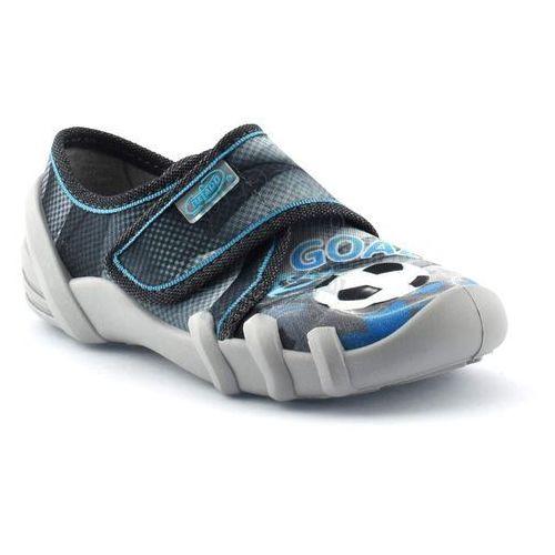 Kapcie dziecięce Befado 273X203 Skate - Niebieski   Grafitowy, kolor Niebieski