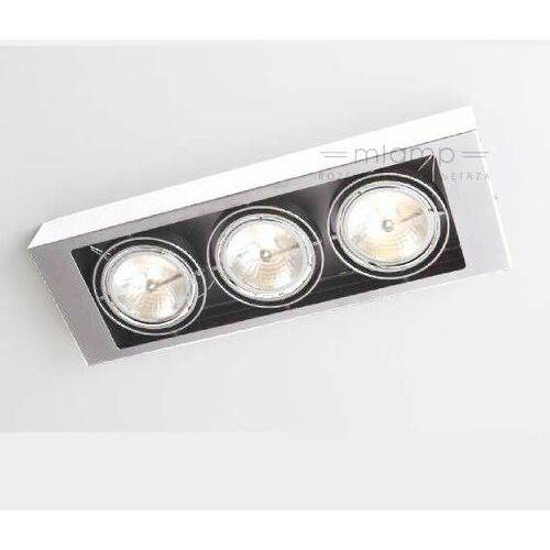 Koga Sufitowa Shilo 7127, kolor biały;czarny
