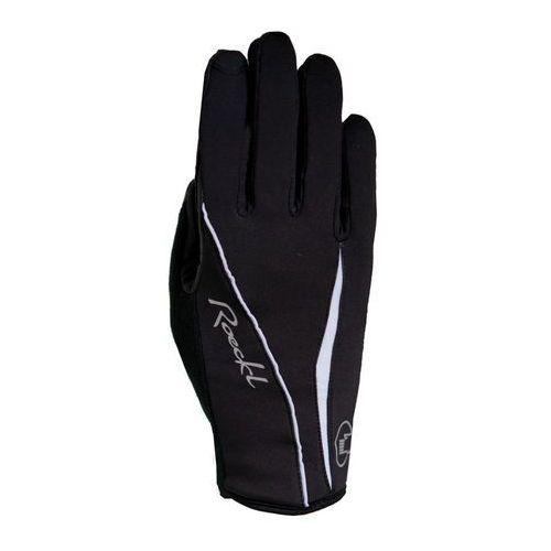wanda rękawiczka rowerowa kobiety biały/czarny 6 2018 rękawiczki zimowe marki Roeckl