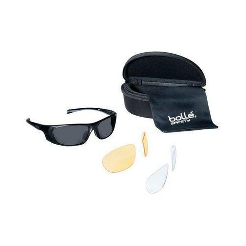 Okulary balistyczne Bolle Tactical Invader Clear,Yellow,Smoke (INVAKIT) z kategorii Okulary i gogle ochronne