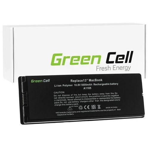 Apple Macbook 13 MA254 / A1181 5400mAh Li-Polymer 10.8V czarny (GreenCell) (5902701411602)