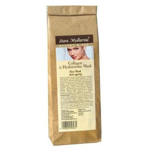 Collagen & hyaluronate - maska z kwasem hialuronowym i kolagenem morskim 65 g marki Stara mydlarnia