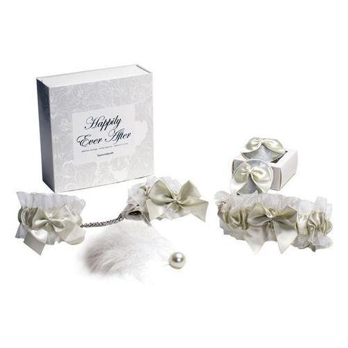Zestaw na zmysłową noc poślubną  - happily ever biały, marki Bijoux indiscrets