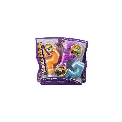 Kinetic Foam Multi 3-pak pomarańczowy fioletowy niebieski *, CentralaZ8852