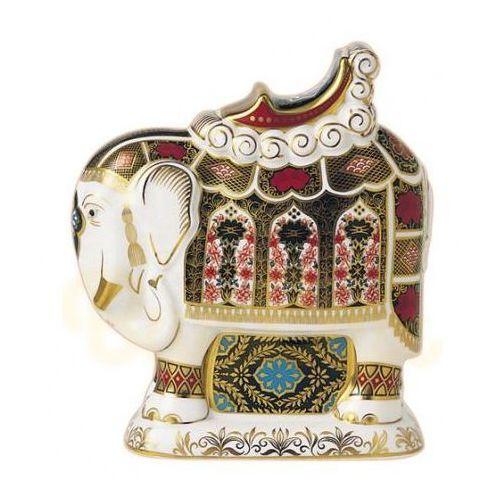 Royal Crown Derby Figurka Imari Słoń 210mm, PAPBOX02200