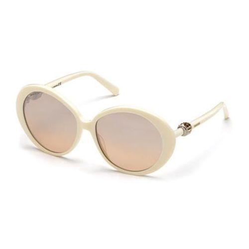 Okulary Słoneczne Swarovski SK 0130 25G, kolor żółty
