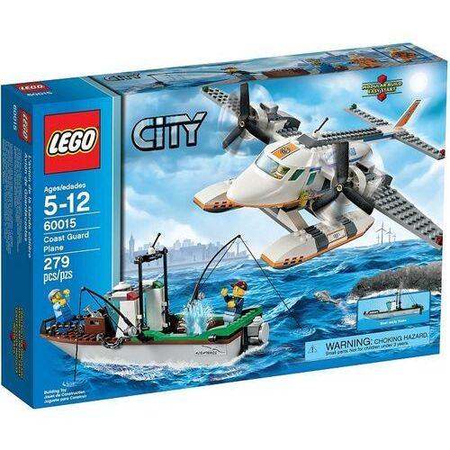 Lego CITY Samolot straży przybrzeżnej 60015