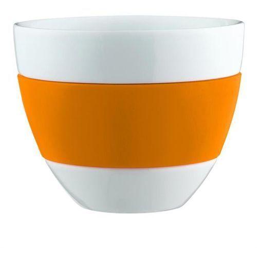 dfd3f533bb484d Koziol Kubek do latte (biało-pomarańczowy) (4002942162675) - morizon ...