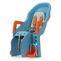 Fotelik dziecięcy na rower Polisport Guppy Maxi CFS - błękitno/pomarańczowy