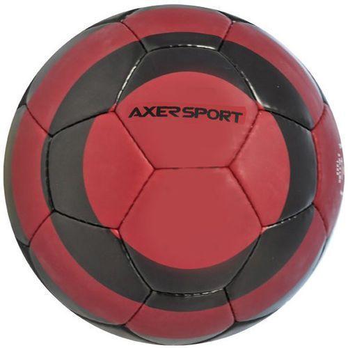 Piłka nożna AXER SPORT Black Rock Czerwono-czarny (rozmiar 5) (5901780920432)