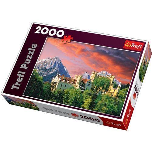 Puzzle 2000 Zamek Hohenschwangau, Bawaria TREFL (5900511270532)