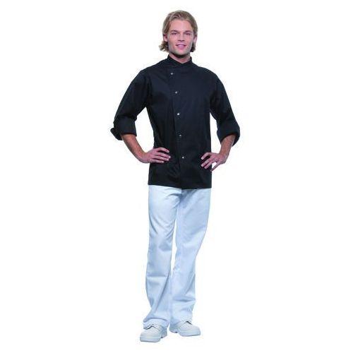 Bluza kucharska męska, rozmiar 58, czarna | , lars marki Karlowsky