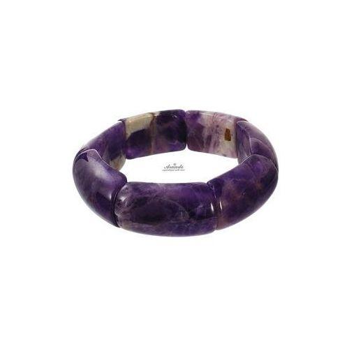 Ametyst naturalny piękna bransoletka od producenta Arande