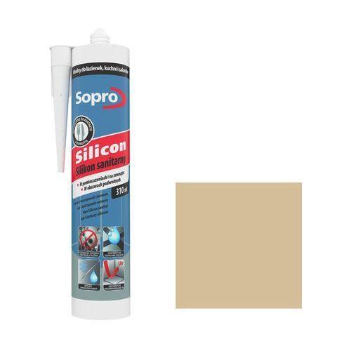 Silikon sanitarny Sopro 310 ml beżowy 32