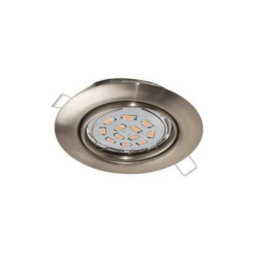 Oprawa wpuszczana downlight oczko Eglo Peneto 1x5W GU10-LED nikiel mat 94242 >>> RABATUJEMY do 20% KAŻDE zamówienie!!!