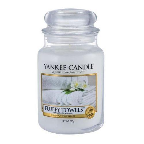 Yankee Candle FLUFFY TOWELS duża świeca zapachowa 623g
