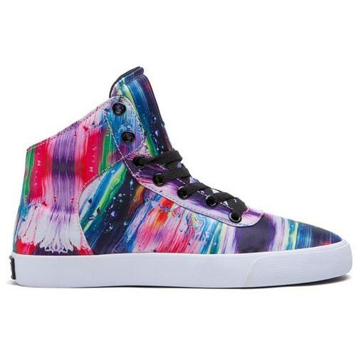 buty SUPRA - Cuttler High Paint Splatter-White (PNT) rozmiar: 35.5