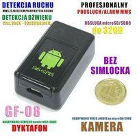 Podsłuch + mini-kamera + mms/foto + zapis + powiadomienie + gps + vox... (zasięg cały świat!!). marki Spy elektronics ltd.
