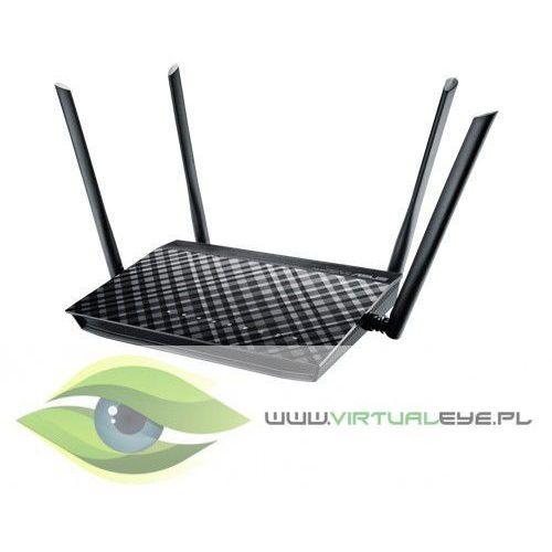 Router rt-ac1200g+ dualband ac1200 1wan 4lan 1usb marki Asus