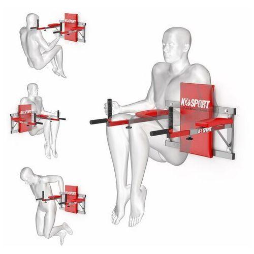Poręcz treningowa do ćwiczeń mięśni brzucha ścienna ksh004/sk marki K-sport