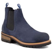 Sztyblety - suede chelsea boot em0em00353 ink blue cgi, Tommy jeans, 41-46