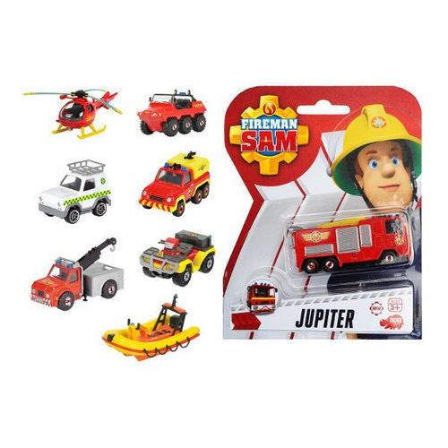 Simba  strażak sam pojazdy 1/64, 8 rodz. (4006333048487)