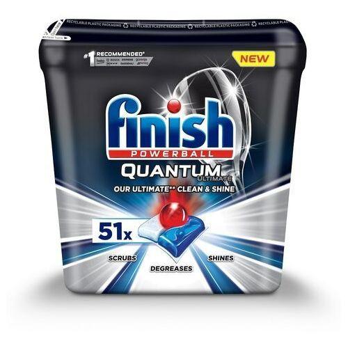 Finish Tabletki do zmywarki powerball quantum ultimate 51 regularne